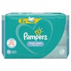 Servetėlės PAMPERS Fresh Clean,3x52vnt