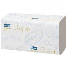 Servetėlės rankoms Premium H2 baltos, 2 sl., 150 servetėlių (pakuotę sudaro 21 pak.)