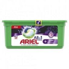 Skalbimo kapsulės Ariel TOL Unstoppables, 24vnt
