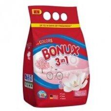 Skalbimo milteliai BONUX Color, Pure Magnolia, 3kg./40sk.