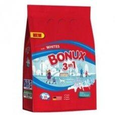 Skalbimo milteliai BONUX White, Polar Ice Fresh, 1,5kg./20sk.