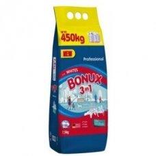 Skalbimo milteliai BONUX White, Polar Ice Fresh, 7,5kg./100sk.