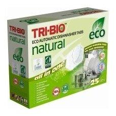 Tabletės indaplovėms TRI-BIO, 25 vnt. LT-EKO-001