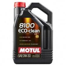 Variklinė alyva MOTUL 0W30 MOTUL 8100 ECO-CLEAN 5L
