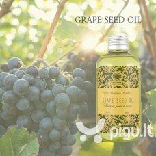 Vynuogių sėklų aliejus 100% Saules Fabrika, 200ml