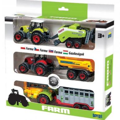 Žemės ūkio technikos rinkinys