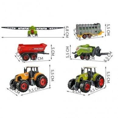 Žemės ūkio technikos rinkinys 15